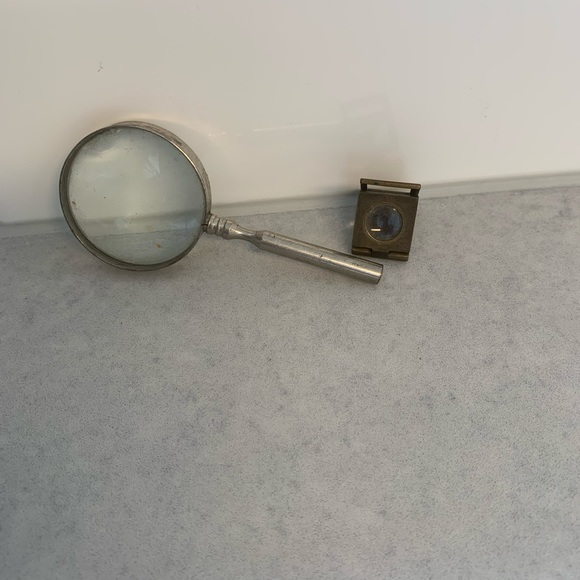 Vintage miniature magnifying glasses